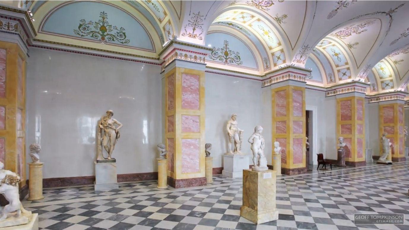 Visite en timelapse de l hermitage le plus grand mus e du for Les plus grands musees du monde